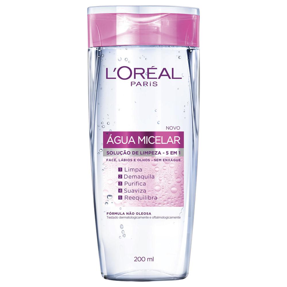 Água Micelar Solução de Limpeza 200ml Loréal