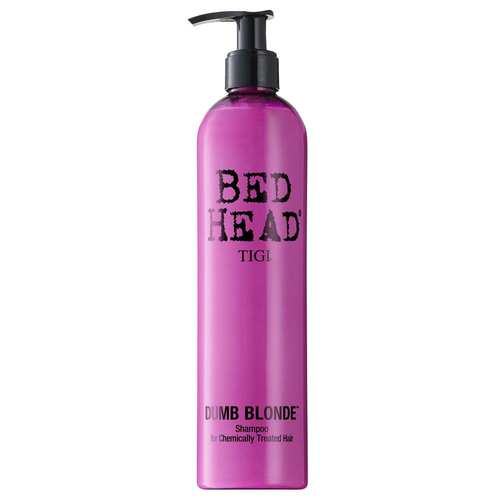 Shampoo Dumb Blond for Chemically Treated Hair 400ml Bed Head Tigi