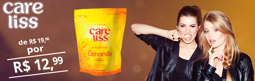 Banner Care liss camomila