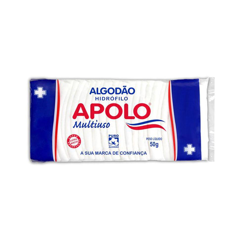5facf901f3849f Algodão Multiuso Sanfonado 50g Apolo