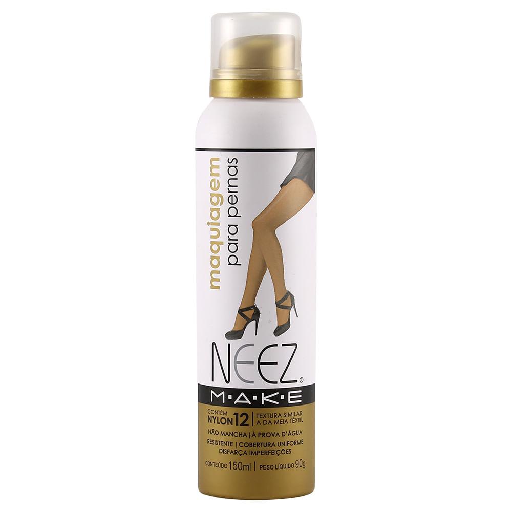 00cff96b5 Make Maquiagem para Pernas Morena Escura 150ml Neez - Coprobel