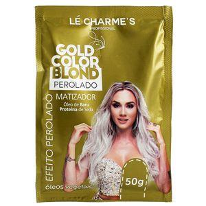 10dbf49bb Sache Máscara Matizadora Gold Color Blond Perolado 50g Lé Charme's -  Coprobel