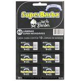 Lamina-para-Barbear-Cartela-com-6-Caixas-com-10-unidades-Super-Barba-9386846