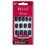 Unhas-Coloridas-Quadrado-Curto-Metal-Blues-ref-2295-com-24-unidades-Belliz-9453104