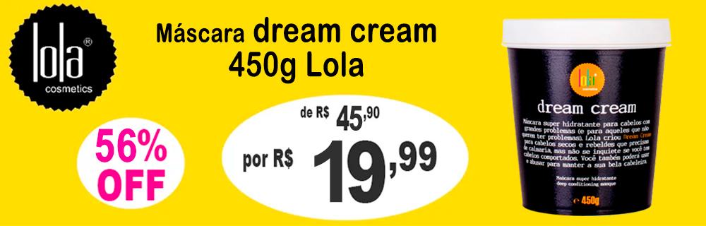 Banner LOLA dream cream 1999