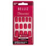 unhas-coloridas-quadrado-medio-rosa-cremoso-ref-2306-com-24-unidades-belliz-9450622-16349